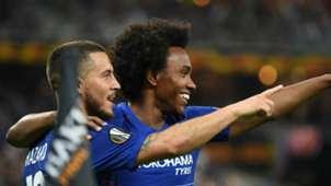 Willian Eden Hazard Chelsea Arsenal