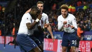 Dele Alli Harry Winks Moussa Sissoko Tottenham Leicester Premier League 08122018