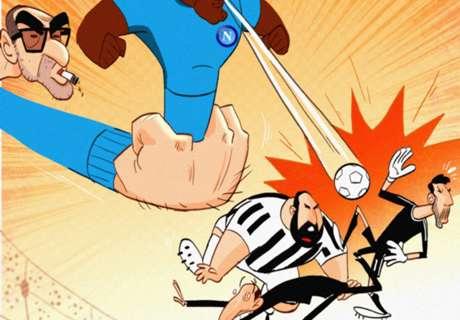 CARTOON: Sarri delivers title blow to Juve