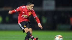 2018-01-27 Alexis Sanchez Manchester United