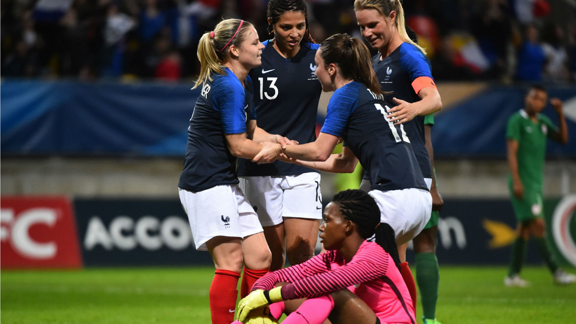 Image result for France Vs Nigeria: Women's Friendly - 8 - 0