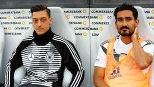 Mesut Ozil Ilkay Gundogan Germany 2018