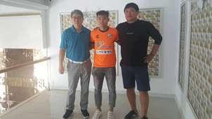 Tiền đạo Nguyễn Hữu Khôi Siheung City FC