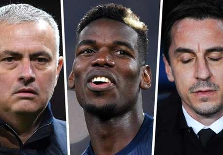 Pogba deletes cryptic tweet after Mourinho sacking