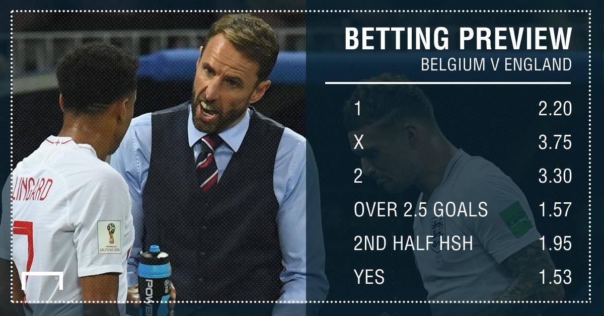 Belgium v England PS