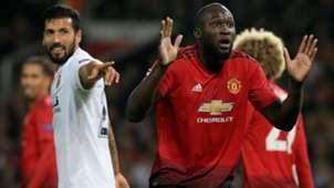 Romelu Lukaku Manchester United CSKA UEFA Champions League 02102018