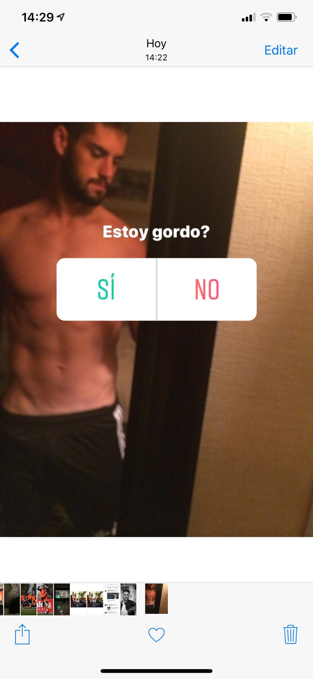 EMBED ONLY Isco Instagram Story