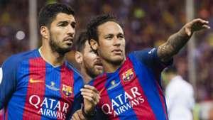Luis Suarez Neymar Barcelona 2016-17