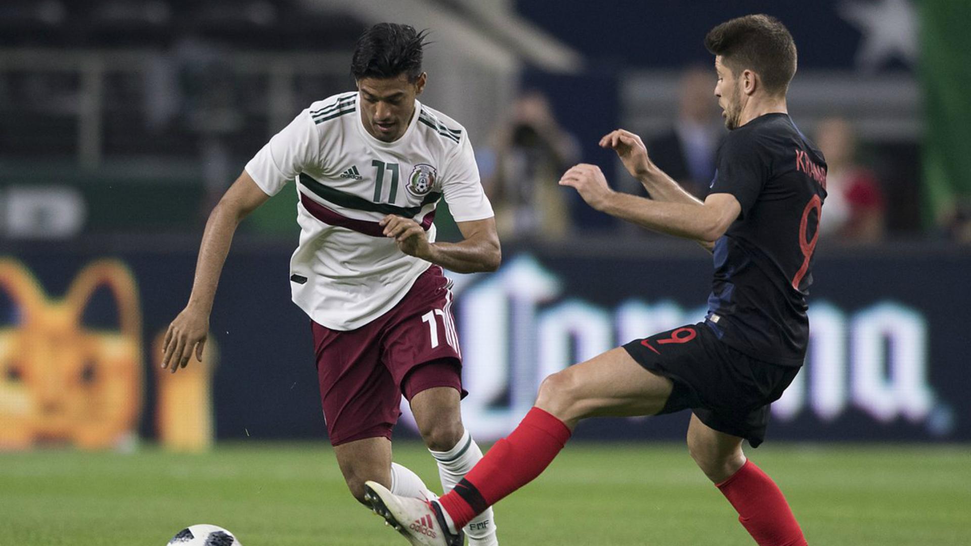 México Croacia Carlos Vela