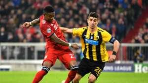 David Alaba FC Bayenr München Champions League 07112018