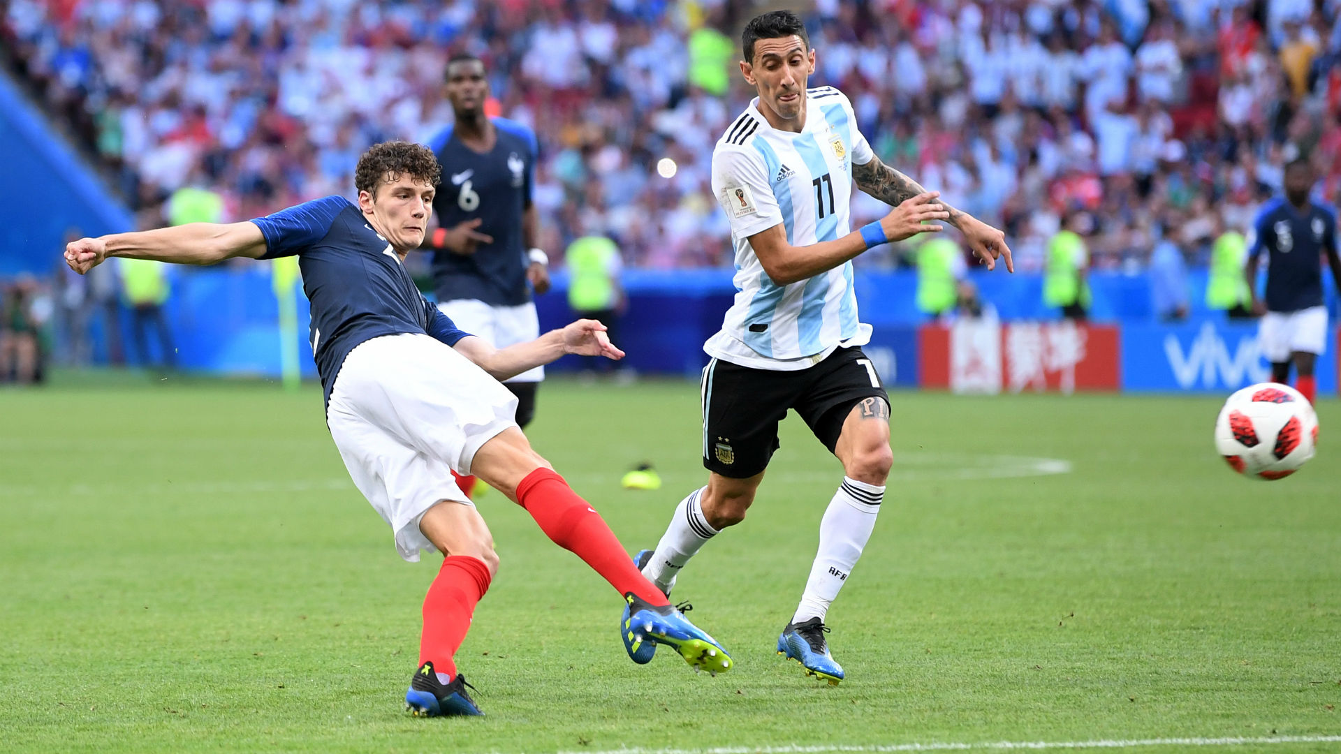 Benjamin Pavard France Argentina World Cup 30062018