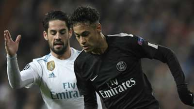 Isco Neymar Real Madrid PSG Paris Saint-Germain