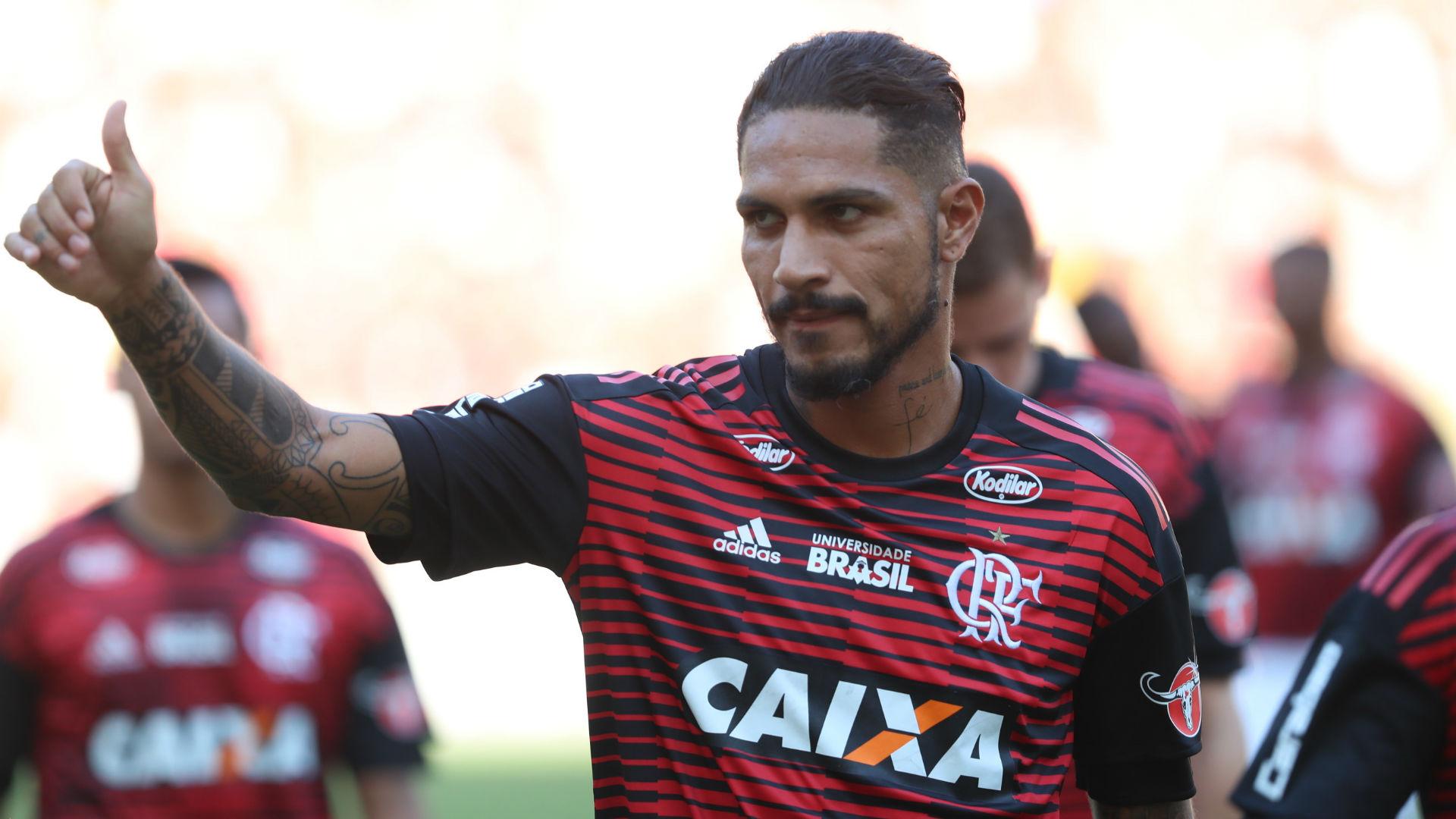 Guerrero Flamengo Inter Brasileirão 07 05 2018