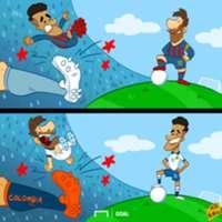 Coutinho & Messi's contrasting Copas CARTOON