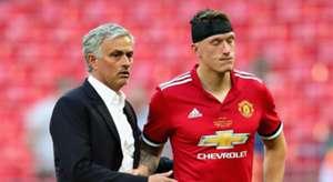Jose Mourinho Phil Jones Manchester United Chelsea FA Cup