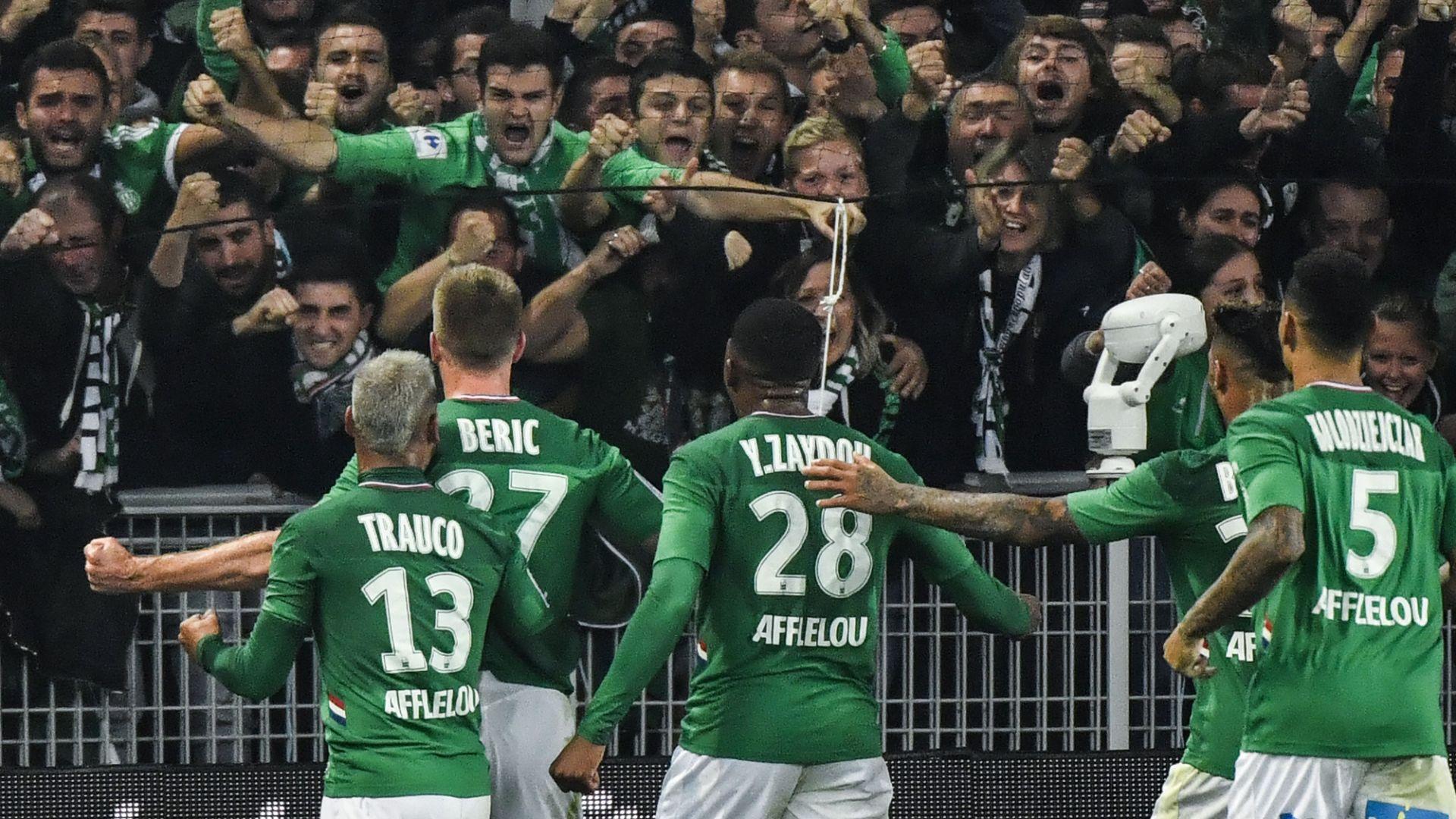 Saint-Etienne à quatre derrière et avec Hamouma contre Oleksandria — Ligue Europa