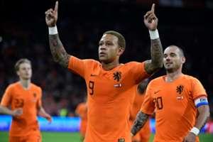 Memphis Depay Wesley Sneijder - Netherlands