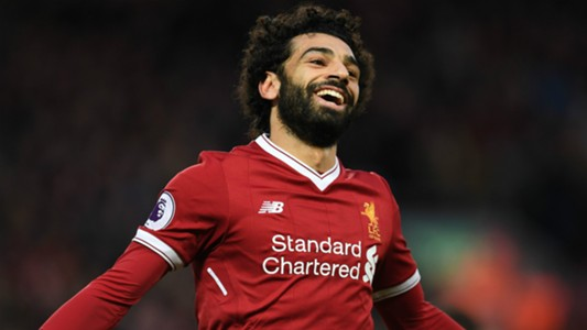 Image result for Mohamed Salah beats Victor Moses to BBC award