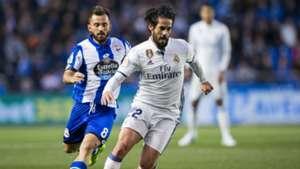 Isco Alarcon Deportivo Coruna Real Madrid LaLiga 26042017
