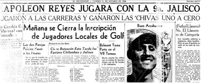 chivas edicion el informador 1948