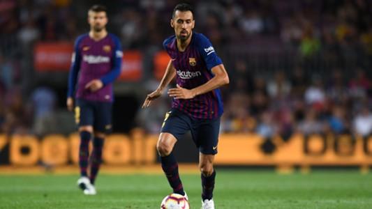 Sergio Busquets FC Barcelona 18082018
