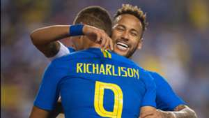 Richarlison Neymar Brazil El Salvador Friendly 11092018