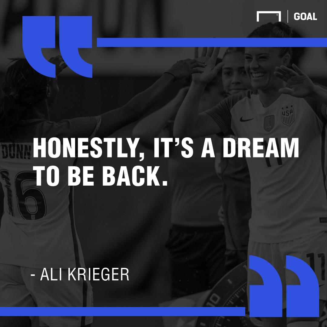 Ali Krieger quote GFX