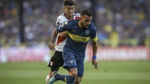 Tevez Boca River Superclasico Superliga 23092018