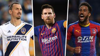 Puskas Award 2019 Zlatan Ibrahimovic Lionel Messi Andros Townsend