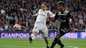 David Neres Luka Modric Ajax Real Madrid Champions League