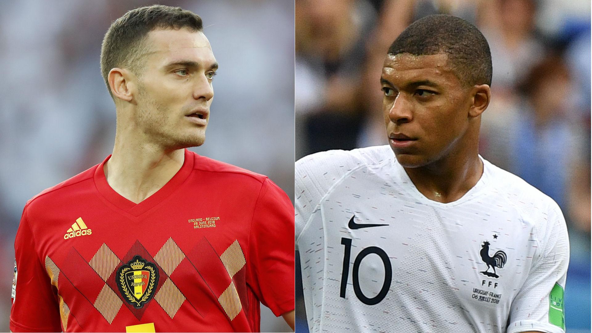 ベルギー代表DF、19歳ムバッペを褒めちぎり「フランス最高の選手」「試合を一瞬で決められる」