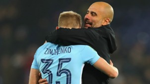 Manchester City Guardiola Zinchenko 19122017