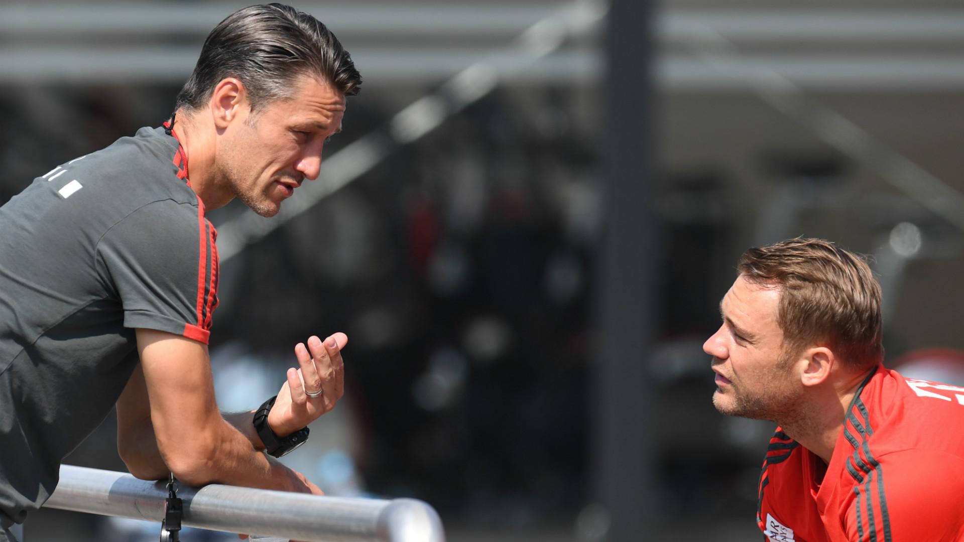Niko Kovac Manuel Neuer Bayern Munchen