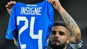 Insigne Napoli Cagliari celebrating Serie A