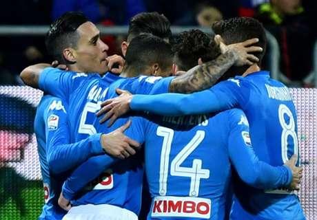 Serie A: Ismét nyert a Napoli, Nagy Ádámék pontot szereztek Rómában