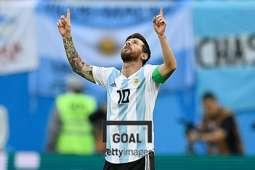 아르헨티나 대표팀 잠정 은퇴를 선언한 리오넬 메시. 사진=게티이미지