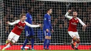 Nacho Monreal Arsenal Chelsea