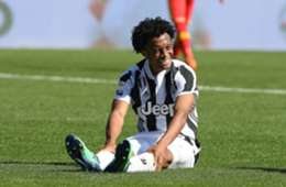 Juan Guillermo Cuadrado lesión Juventus 2018