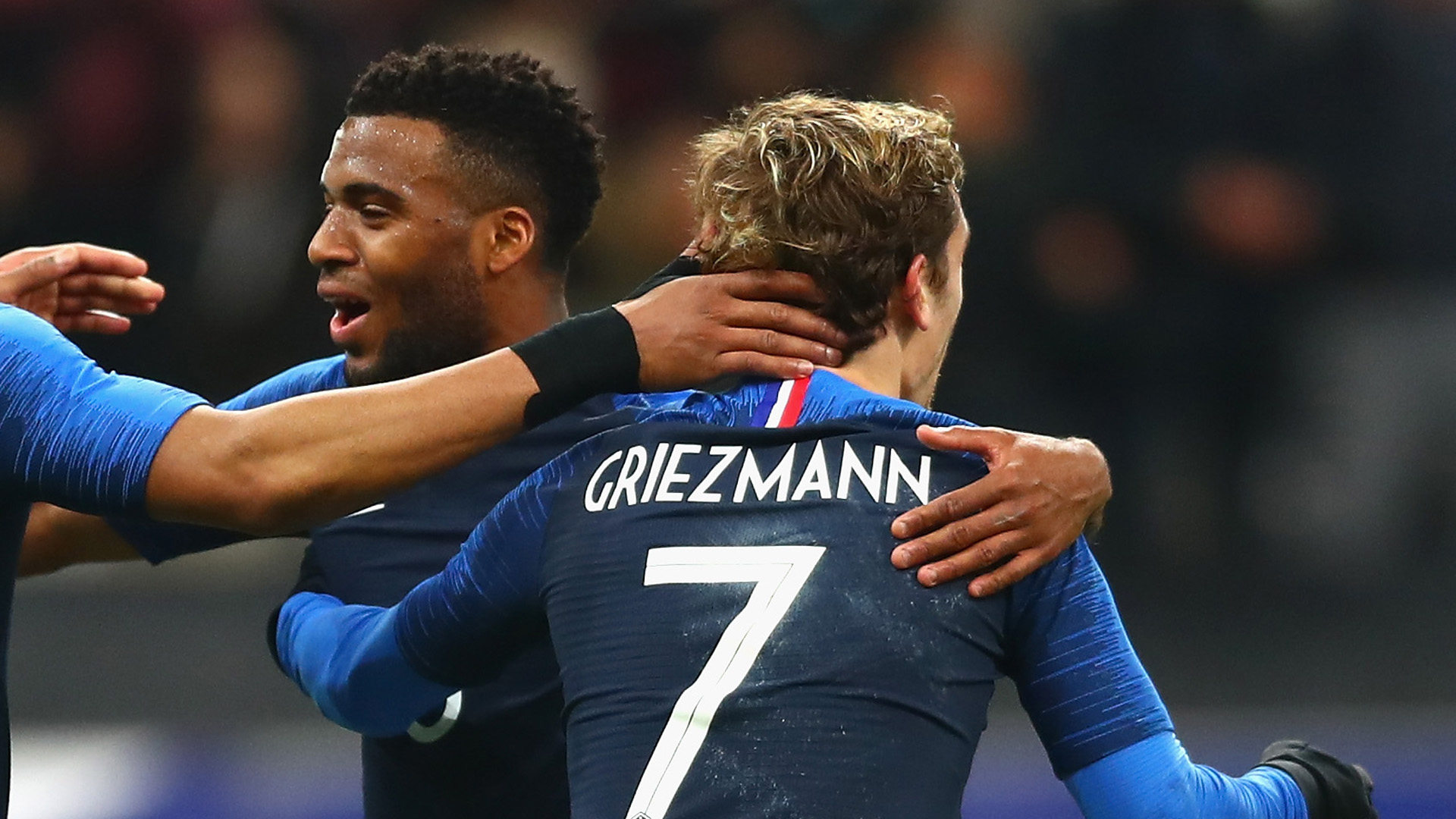 Thomas Lemar Antoine Griezmann France 23032018