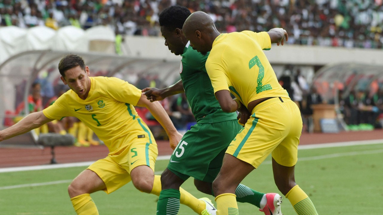 When is the Afcon qualifier between South Africa and Nigeria and how can I watch?