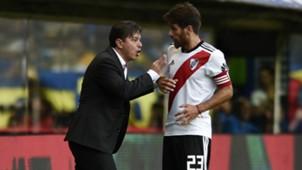Gallardo Ponzio Boca Juniors River Plate Superliga 2018