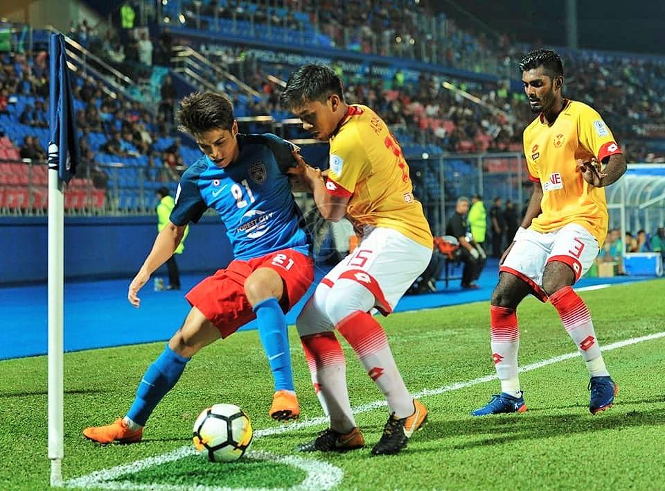 Nazmi Faiz Mansor, Johor Darul Ta'zim, Ashmawi Yakin, K. Kannan, Selangor, Malaysia Super League, 02052018