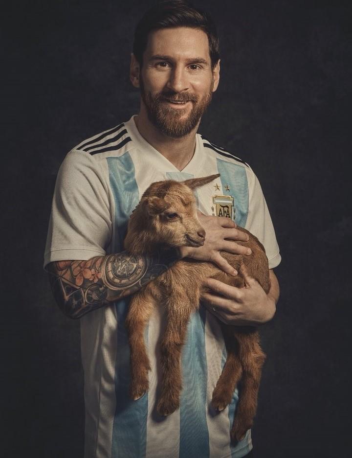 GOAT Lionel Messi