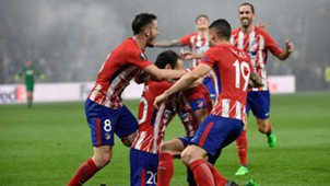 Gabi Atletico Madrid Marseille 16052018