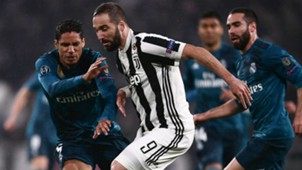 Higuain Juventus Real Madrid Champions League