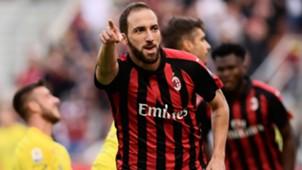 Higuain Milan Chievo