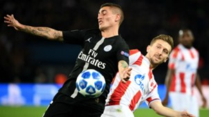 Marco Verratti Paris Saint-Germain Red Star Champions League