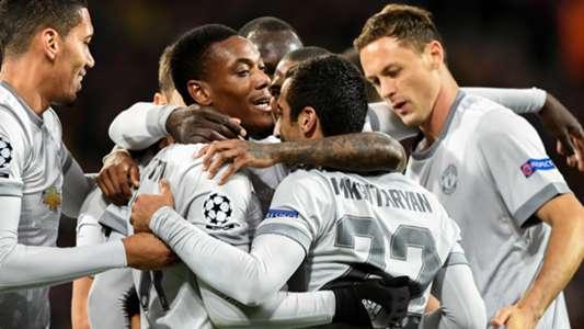 Anthony Martial Henrikh Mkhitaryan Manchester United