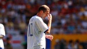 Zinedine Zidane France 2002 World Cup 11062002