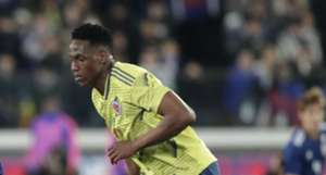 Yerry Mina Colombia 2019